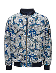 All Over Waste Printed Catalina Jacket - TOTAL ECLIPSE