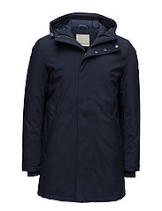 Long Soft Shell Quilted Jacket - GR - TOTAL ECLIPSE