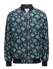 Pilot jacket with print - GRS - TOTAL ECLIPSE