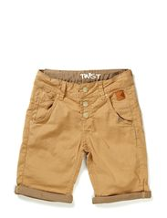 shorts - dark kakhi