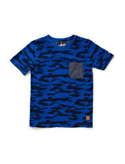 T-shirt - all over print navy