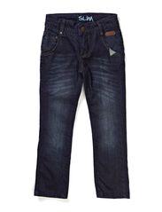 SLIM jeans - dark blue denim
