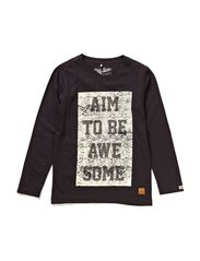 T-shirt l/s - dark grey