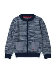 Knit cardigan - navy