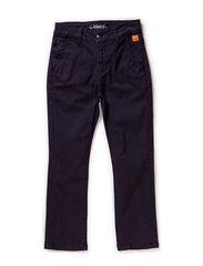 CHINO pants - navy