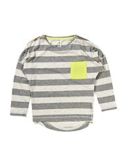 Tee LS - striped