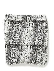 skirt - All over print snake