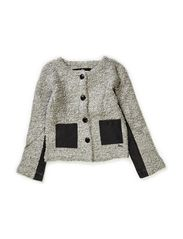 Bucle Jacket - light grey melange