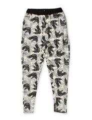 Loose pants - all over print
