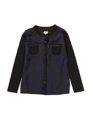 Shirt l/s - black