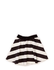 Skirt - Striped black/off white