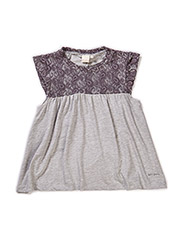 Lace top - Grey mix
