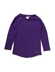 Tee l/s - purple