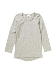 Blouse - light grey melange