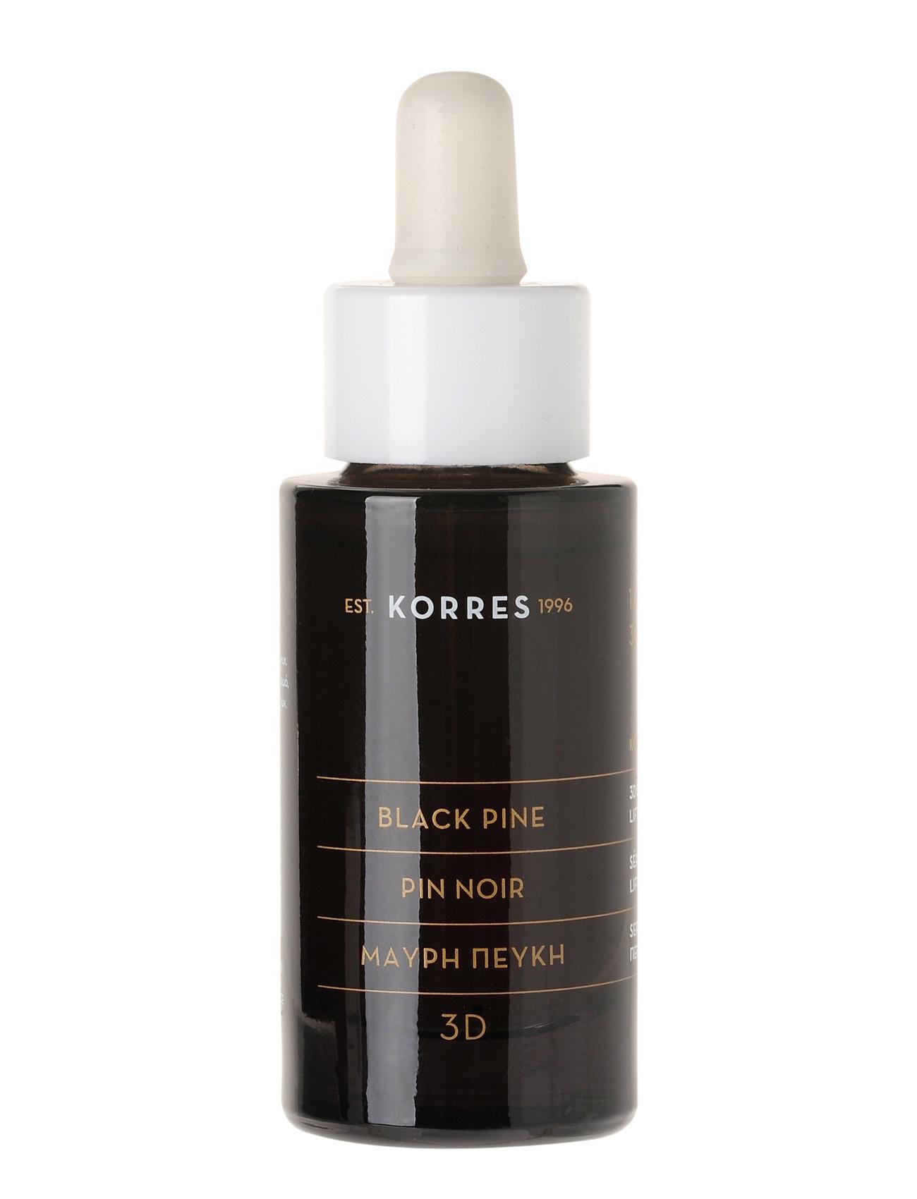 korres – Black pine face serum 30ml fra boozt.com dk