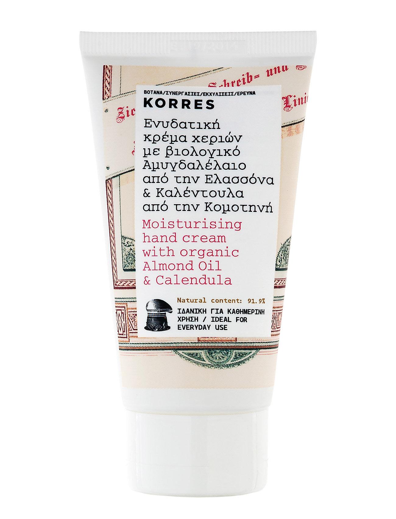 korres – Almond oil/calendula hand cream 75ml på boozt.com dk