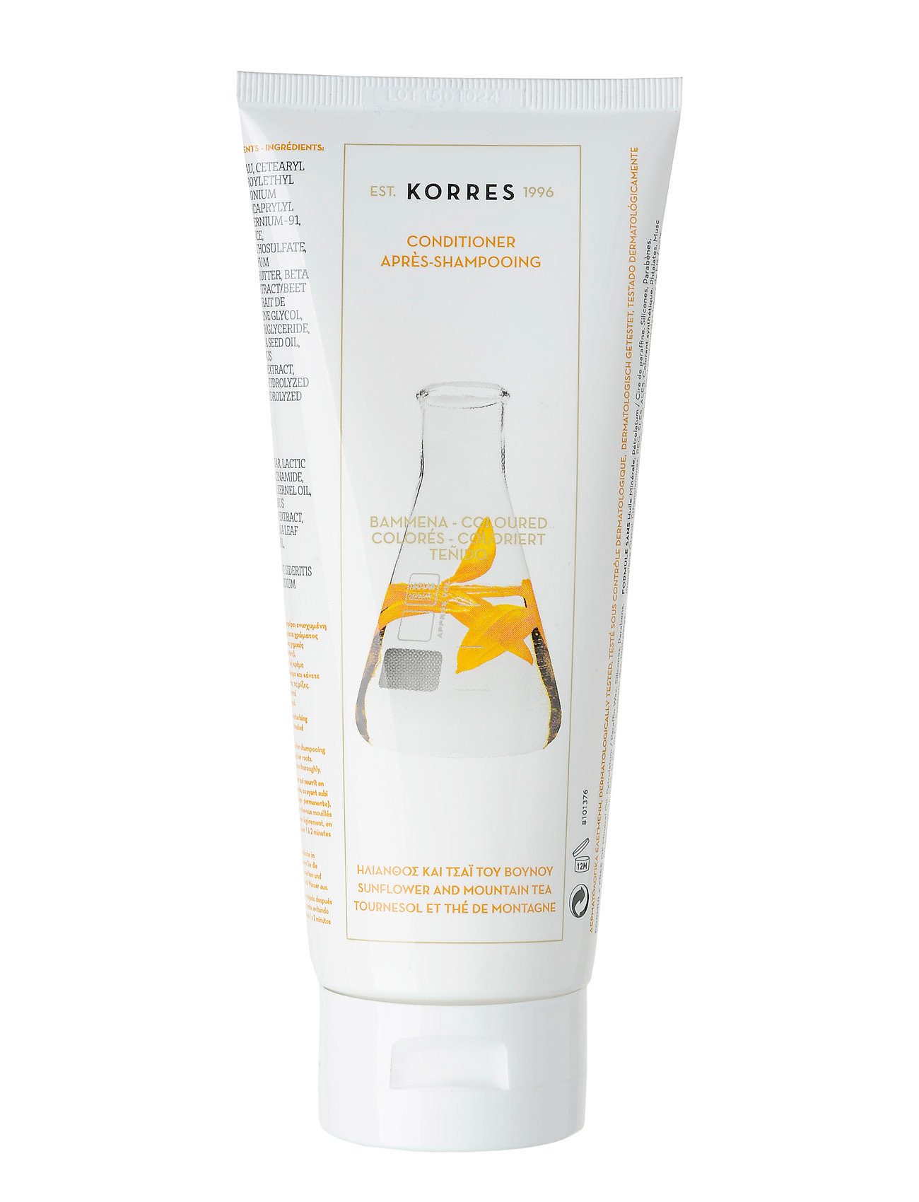 korres – Sunflower&tea conditioner 200ml på boozt.com dk