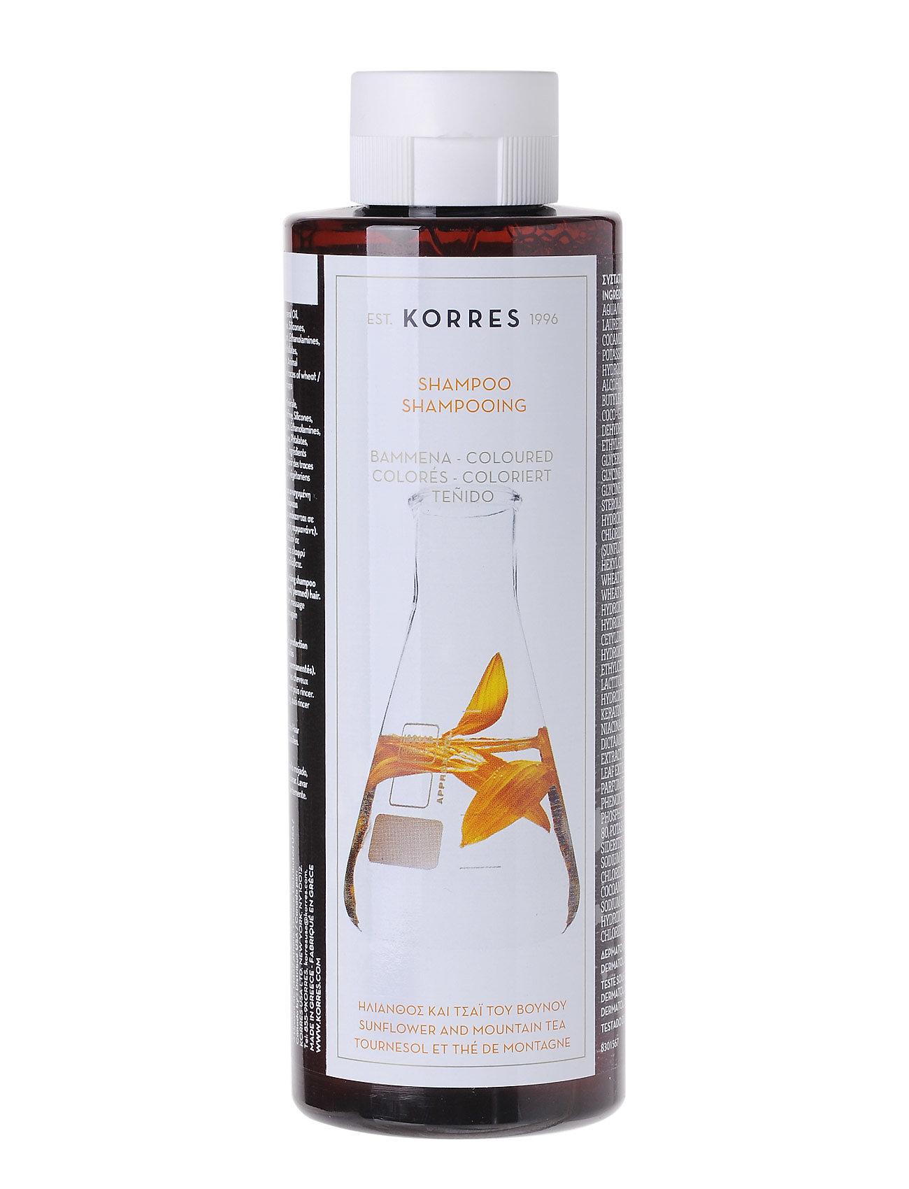 Sunflower&tea shampoo 250ml fra korres fra boozt.com dk