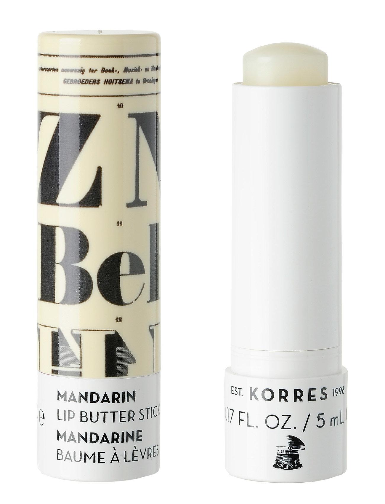 korres – Spf15 colorless lip butter stick fra boozt.com dk