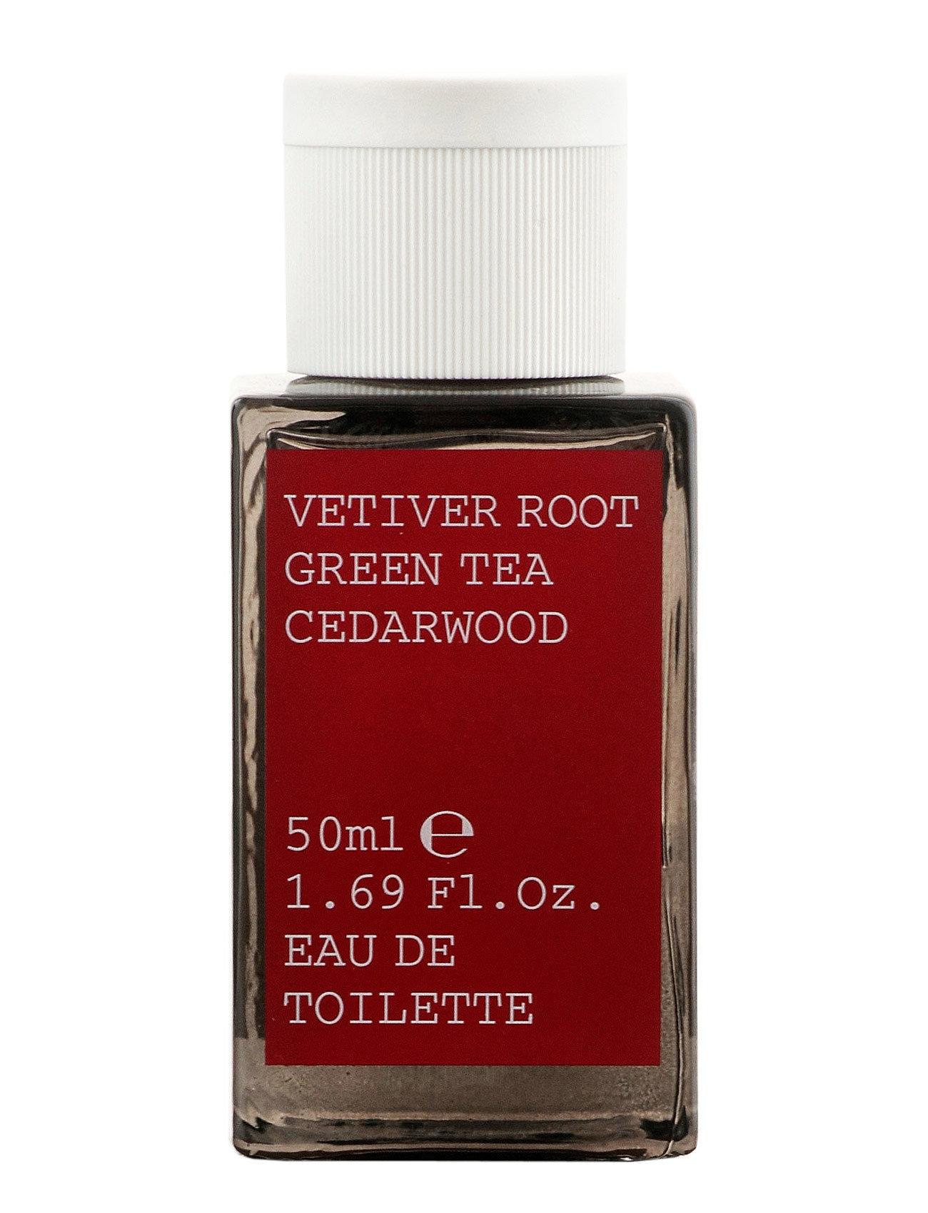 Vetiver root/green tea/cedarwood edt 50ml fra korres på boozt.com dk