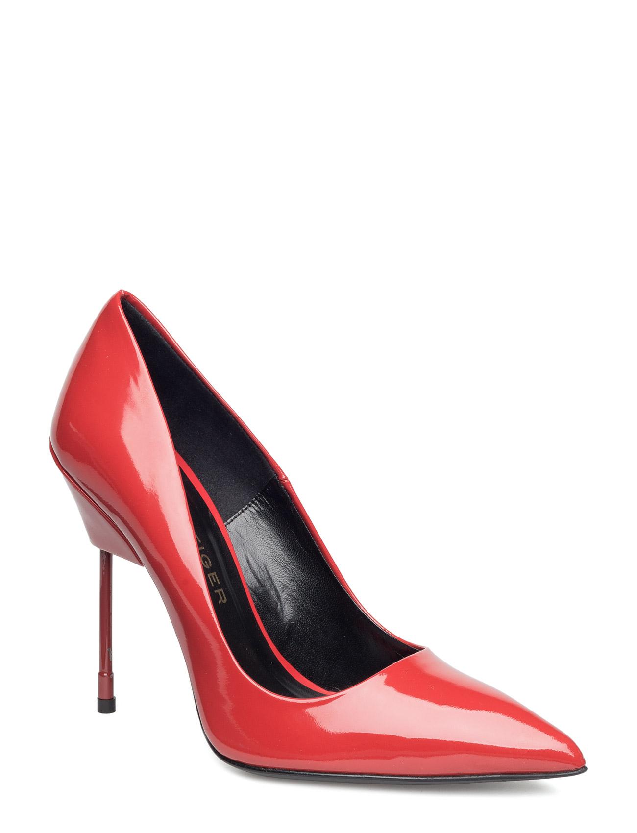 Britton Kurt Geiger London Stiletter til Damer i Rød
