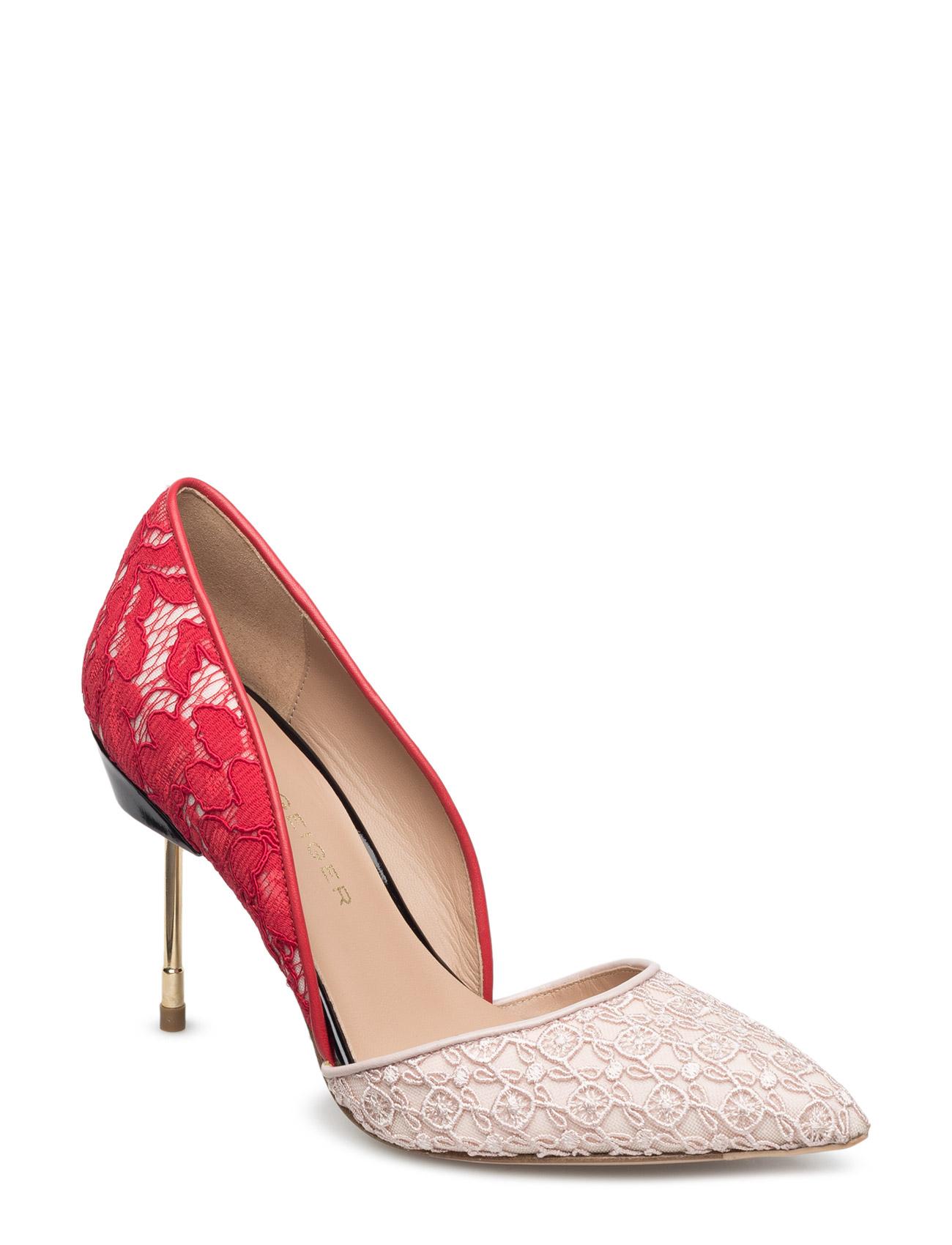 Beaumont Kurt Geiger London Stiletter til Kvinder i Rød