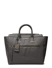 WOVEN BEATRICE TOTE - GREY/OTHER