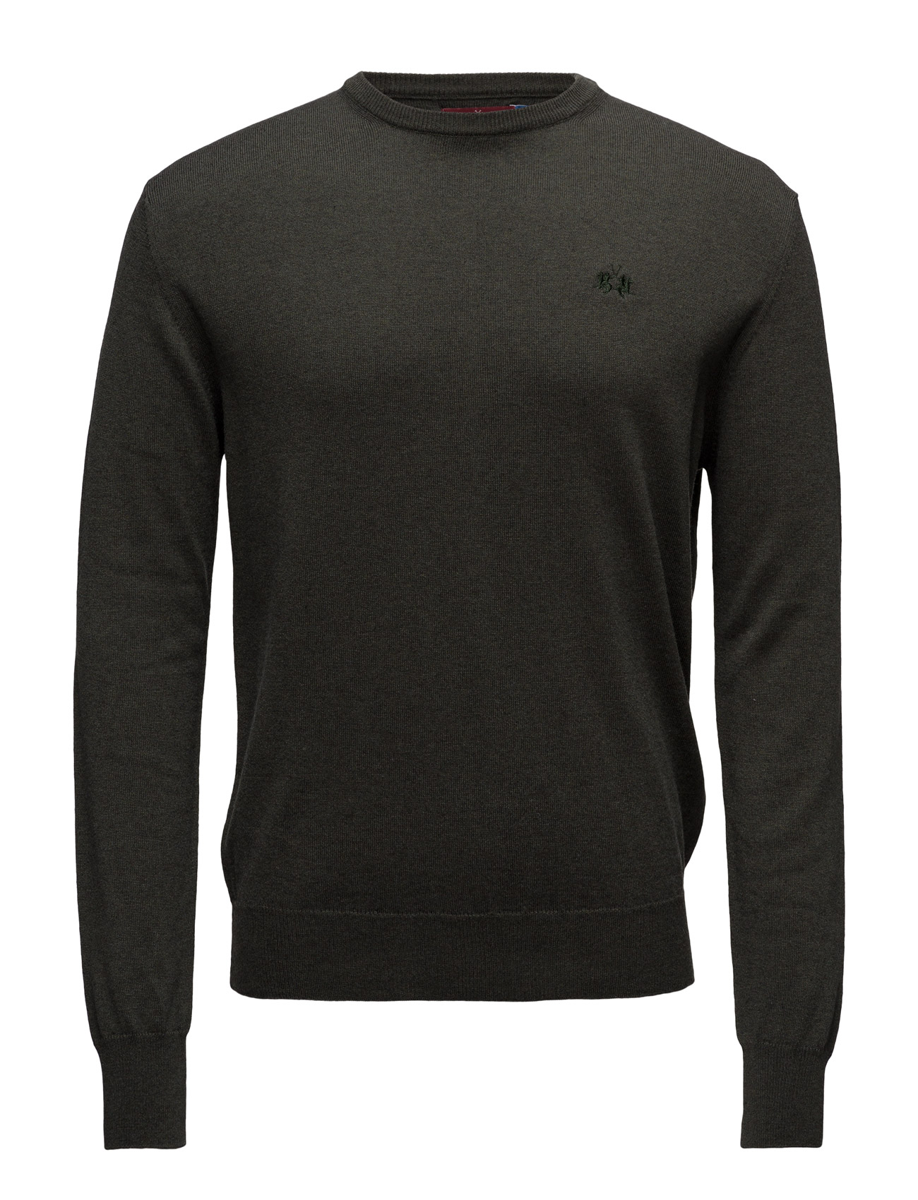 la martina – La martina-man crew neck sweat.  wool/co på boozt.com dk