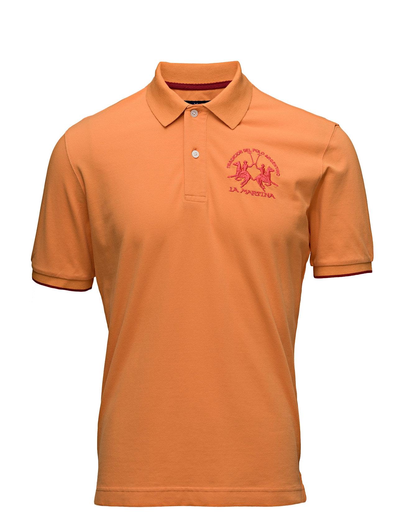 La Martina-Polos La Martina Kortærmede polo t-shirts til Herrer i