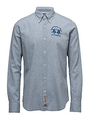 La Martina-Shirts - BLUE SCOTLAND