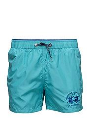 La Martina-Swimwear - PEACOCK BLUE