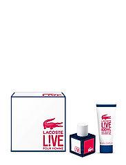 LIVE EAU DE TOILETTE 40ML/SHOWER GEL 100ML - NO COLOR