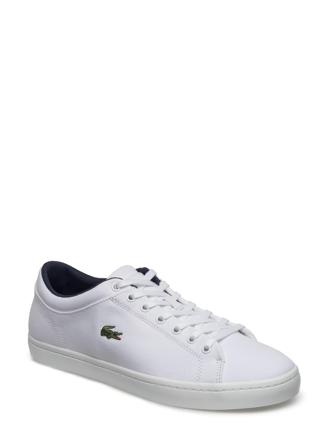 Straightset Bl 2 Lacoste Shoes Sko til Mænd i hvid
