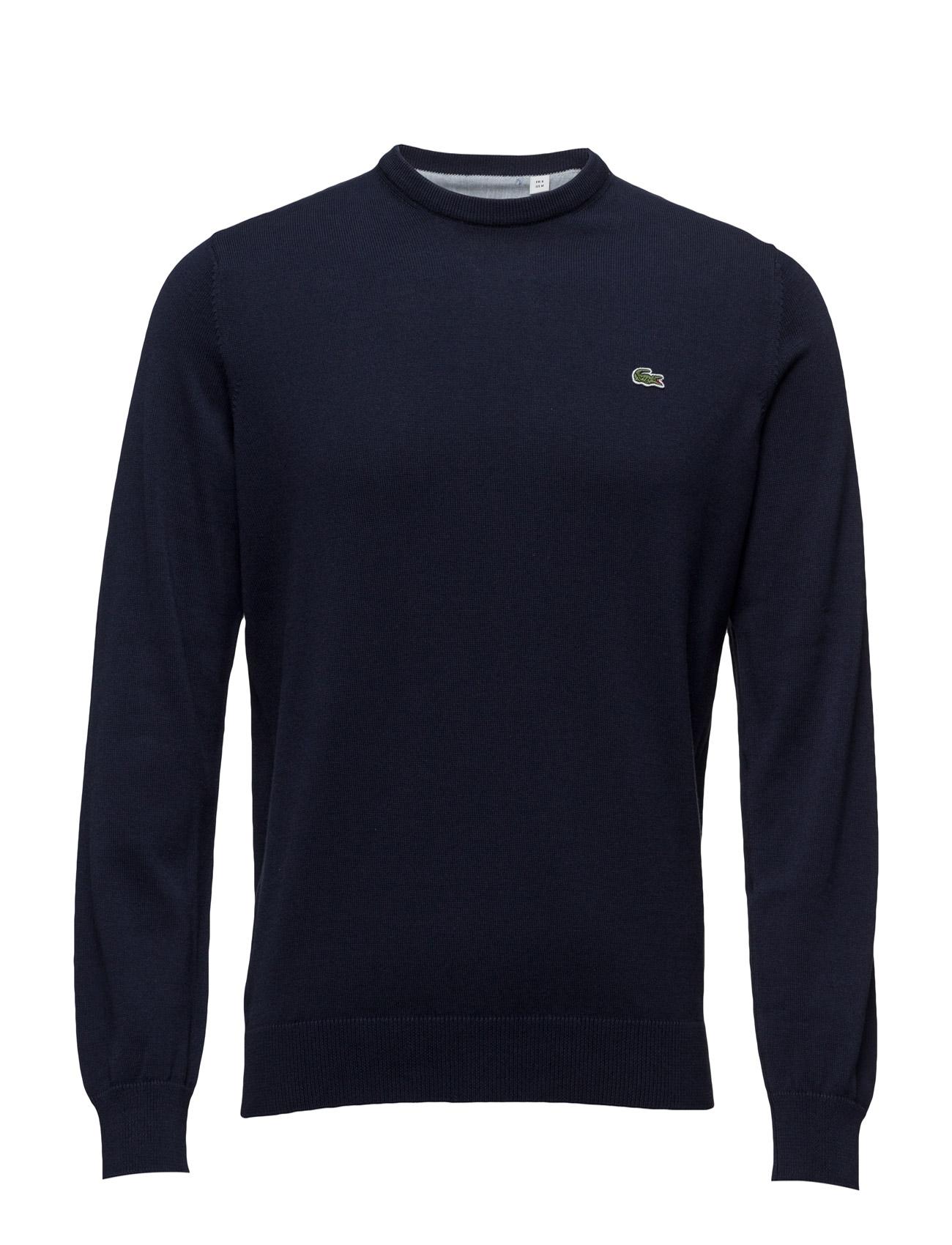 Sweaters Lacoste Striktøj til Mænd i Marine blå