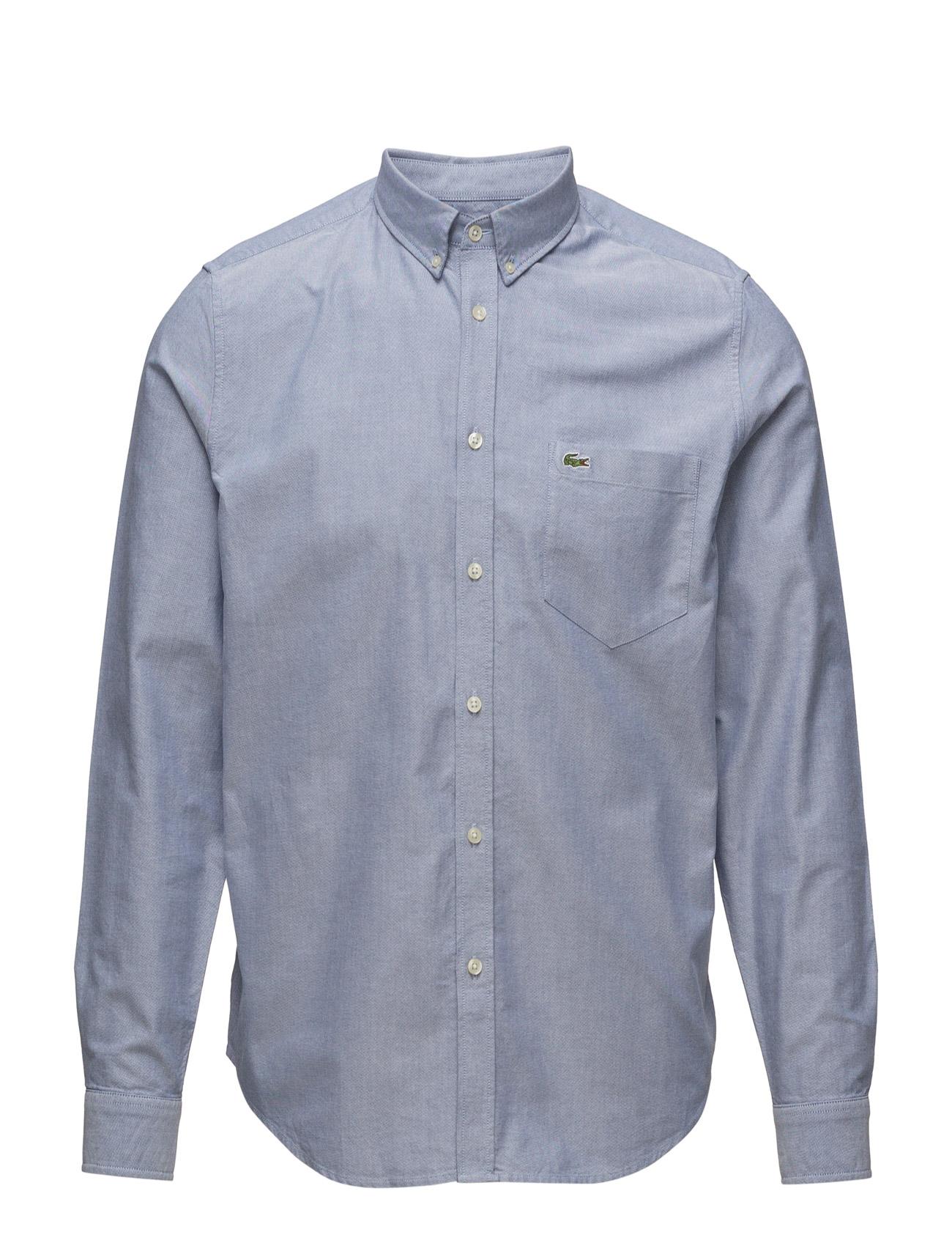 Woven Shirts Lacoste Business til Herrer i hvid