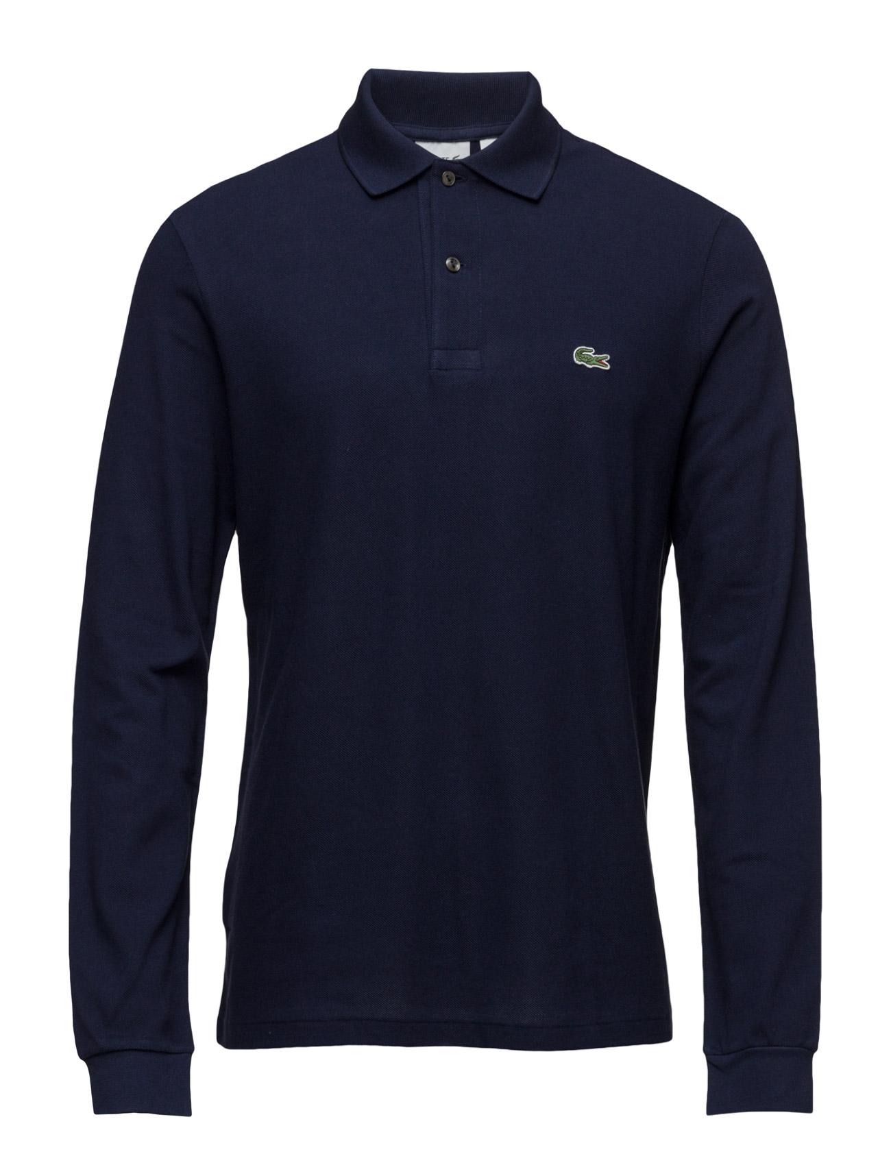 Polos Lacoste Længærmede polo t-shirts til Herrer i hvid