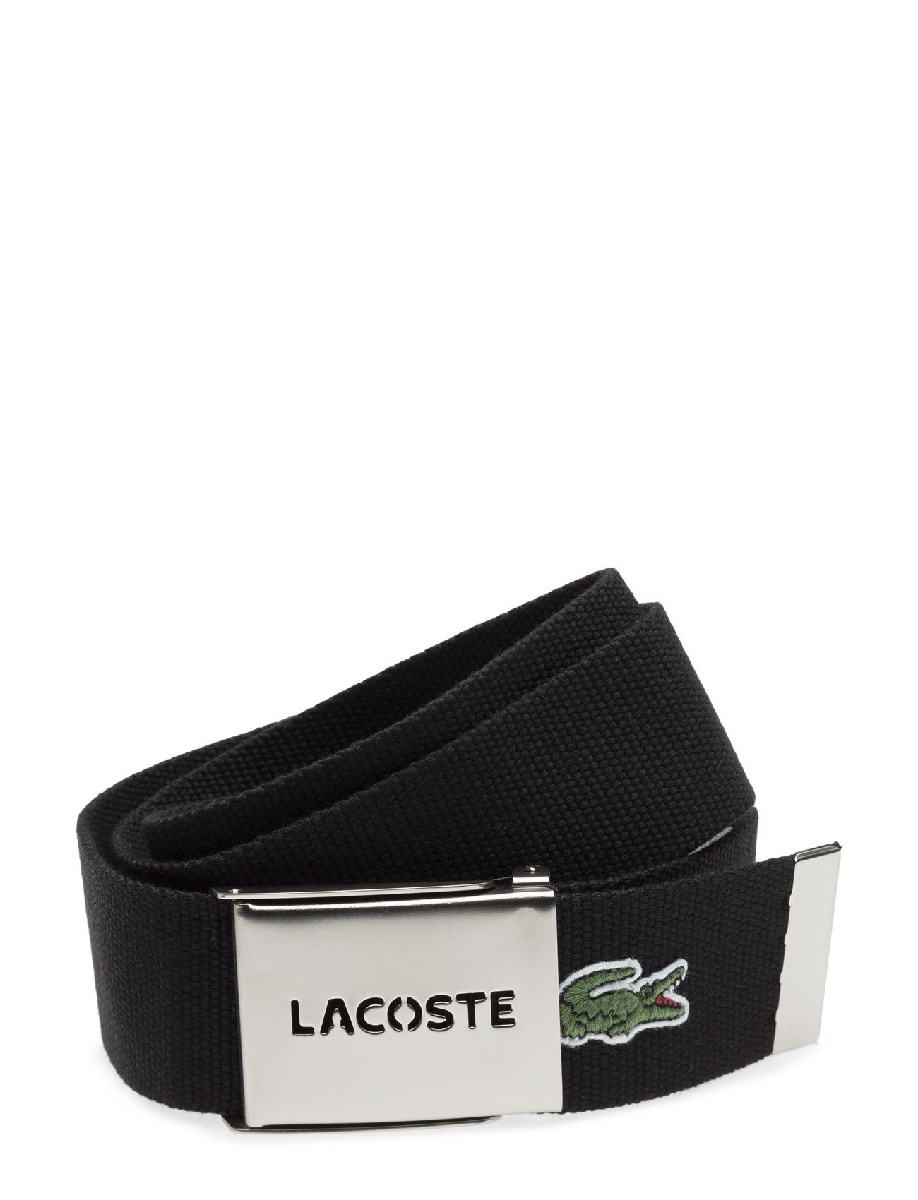 Leather Goods Belt Lacoste Bælter til Herrer i Sort