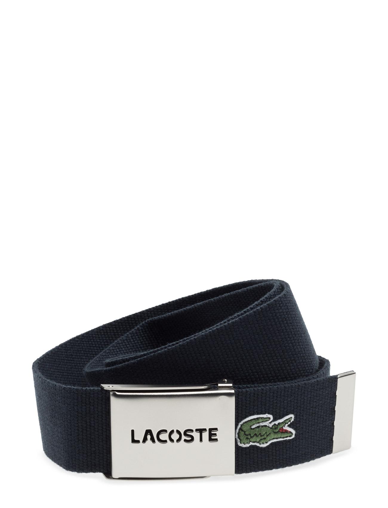 Leather Goods Belt Lacoste Bælter til Herrer i Navy blå