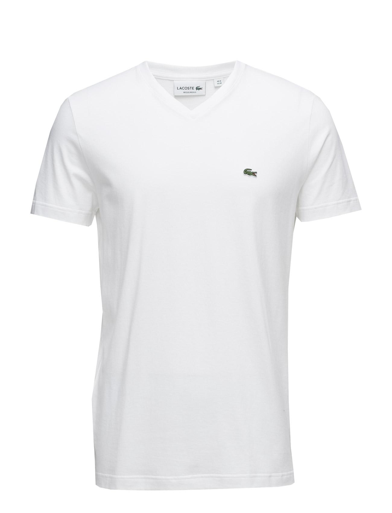 Tee-Shirt&Turtle Neck Lacoste T-shirts til Mænd i hvid