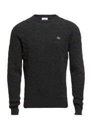 CREW NECK SWEATER - GRANITE CHINE
