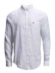 Fab coll shirt - White-001