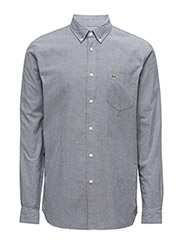WOVEN SHIRTS - NAVY BLUE/WHITE