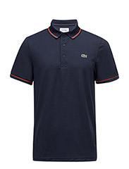 POLOS - NAVY BLUE/MEXICO RED
