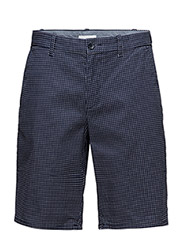 BERMUDAS - NAVY BLUE/WHITE