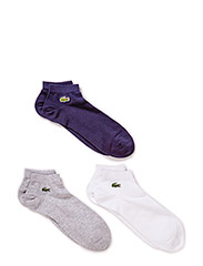 SOCKS - WHITE/SILVER CHINE-NAVY B