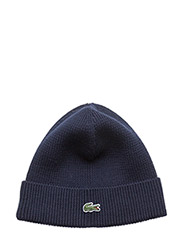 KNITTED CAPS - NAVY BLUE