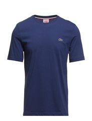 SHORT SLEEVED CREW NECK TEE-SHIRT - NOCTURNE BLUE CHINE
