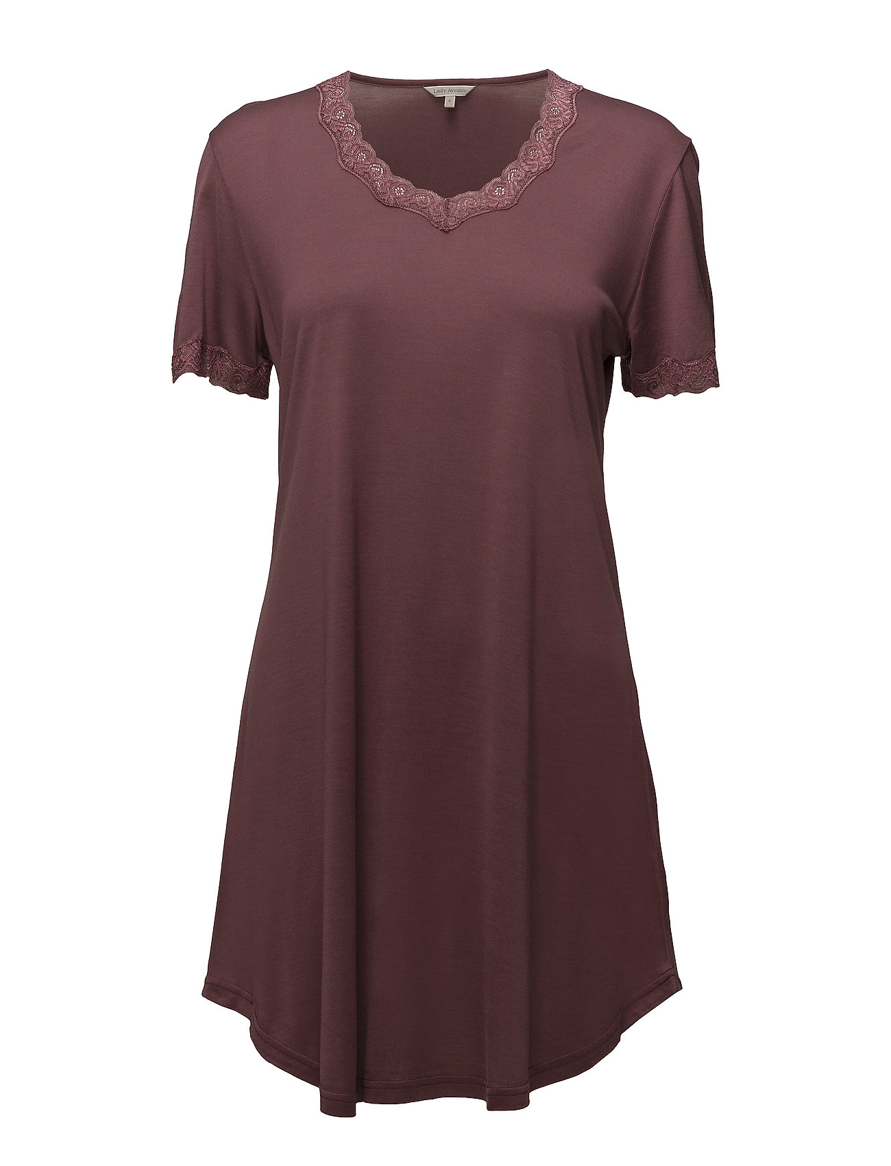 Nightgown W.Sleeve Lady Avenue Nattøj til Damer i