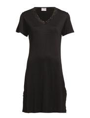 Nightgown - BLACK