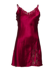 Slip with lace - Bordeaux